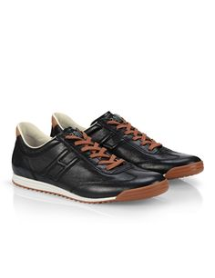 #HOGANREBEL Men's Spring - Summer 2013 #collection: leather #sneakers.