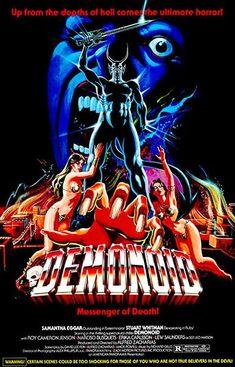 Demonoid: Messenger of Death - 1981 - Movie Poster Horror Movie Posters, Movie Poster Art, Horror Films, Film Posters, Poster Poster, Art Deco Posters, Movie Covers, Vintage Horror, Pulp Fiction