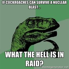 Philosoraptor Yeah (wheeze,cough) what IS in (choke,lungs burst) Raid? ( eyeballs fall out, head shrinks to golf ball size)