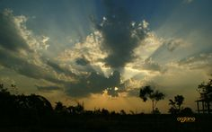 Our first self-sustainable project - Naandi's - beautiful sunset!  To know more, visit us @ www.organo.co.in