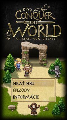 hra RPG Conquer the World - dobi svet, alebo aspoň našu dedinu Nasu, Greatest Mysteries, Mobile Game, Best Games, Mobiles, December, Android, Entertaining, Christmas Ornaments