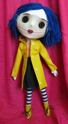 Coraline doll by SewLolita on Etsy I FUCKING WANT IT!