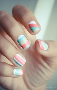 A different design for every nail! So cool! #unique #nailart #ScotchStyle