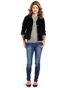 Levi's Women's Petite Trucker Jacket Levi's. $28.06. Velvet exterior. Made in China. Machine Wash. Updated fit elongates body and defines waist. 98% Cotton/2% Elastane