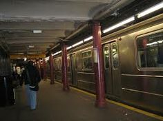 new york subway station - Google Search more pillars on the platform