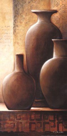 Scrumptious Ceramic Vases Painting Ideas 8 Best Tips: Glitter Vases Diy geometric vases flowers. Still Life Drawing, Painting Still Life, Still Life Art, Easy Paintings, Pottery Vase, African Art, Painting & Drawing, Diy Painting, Painting Inspiration