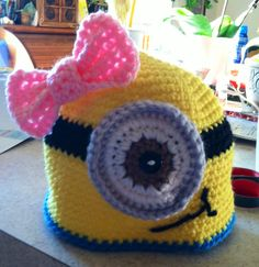 Minion hat for girls