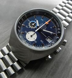 Mint Condition Vintage Omega Speedmaster Mark III Circa 1970s, Powered By a Lemania Based Automatic Chronograph Movement