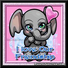 Love Our Friendship. .......         Dazzle Junction.Com. ....