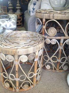 Natural grey scroll tables @ Nom de Plume studio .Pietermaritzburg