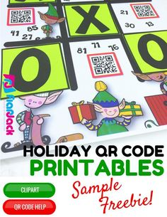 45 best free qr code activities images on pinterest qr codes free 4th grade holiday qr code printables freebie self checking math fun for free fandeluxe Gallery