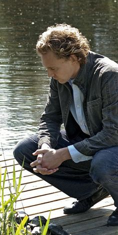 Contemplative in Wallander...Tom Hiddleston