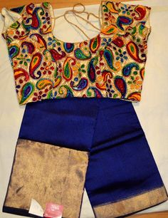 Kota Saree With Gujiri Blouses.....|Buy online Sarees | Elegant Fashion Wear Price:4800 #latest #silk #kota #gurji #blouse