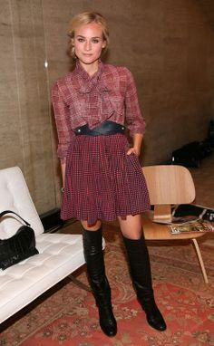 diane kruger The belt is so wrong though