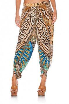 Camilla - Warrior Wanderlust - Wrap Front Trouser
