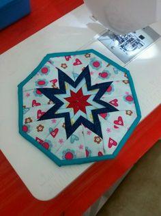 Agarradera Folded Star octogonal / Folded Star hotpad