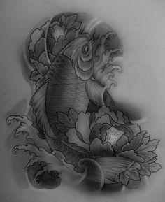 deviantART: More Like Koi hannya tattoo by ~TeroKiiskinen