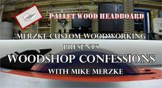 Build video of pallet wood headboard