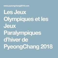 PyeongChang will host the XXIII Olympic Winter Games, Feb. Find voting results and all the latest news as South Korea prepares for the Games. Winter Games, Olympics, Korea, Biographies, French, Diy, Do It Yourself, French People, Bricolage