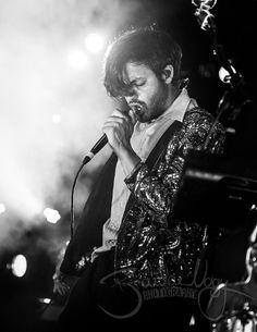 Young The Giant, Sameer Gadhia, Black and White Photo, Fine Art Print, inches Young The Giant, Alternative Music, Fine Art Photo, Black And White Portraits, Sound Waves, Luke Hemmings, Fan Girl, Man Candy, Good Music
