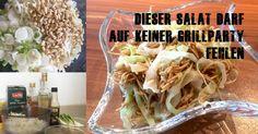 Der australische Wombok Salad darf auf keiner Grillparty fehlen. Ein Salat Highlight, das du unbedingt probieren musst. Schnell und einfach zubereitet!
