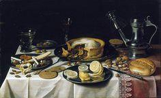 Title: Still Life, c.1625/30 Artist: Pieter Claesz Medium: Hand-Painted Art Reproduction