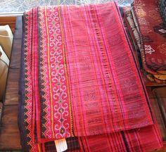 Thai Embroidered Spread   Mayseek Global Treasures