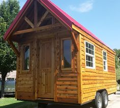 New Tiny Home for sale 192 Sq Ft $24,000.00 Allen TX Love the all the wood!