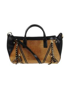 JUST CAVALLI Handbag. #justcavalli #bags #shoulder bags #hand bags #leather #