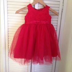 2t red tutu dress worn for a couple of hours Dresses