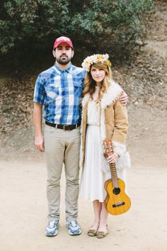 Forrest Gump & Jenny Costume: http://www.stylemepretty.com/living/2015/10/15/totally-doable-halloween-costumes-for-couples/