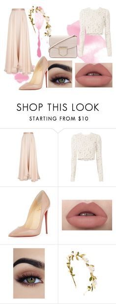 """""""Untitled #96"""" by weirdoqueen on Polyvore featuring Lanvin, A.L.C., Christian Louboutin, claire's and Givenchy"""