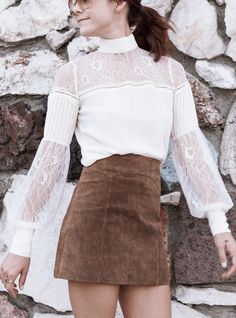 Add this feminine blouse to any outfit to make it instantly whimsical..