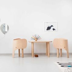 top3 by design - Elements Optimal Denmark - elephant table natural