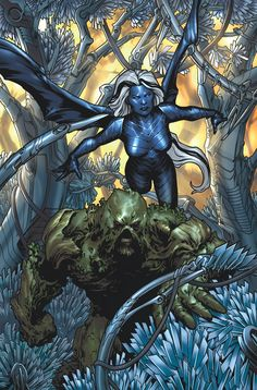 """Countdown to Charles Soule's contract continues! Comics' most legal writer boldly goes where the law doesn't apply in """"Swamp Thing"""" 39. The One Percent® secretly replaced the swamp with machines. Let's see what happens..."""