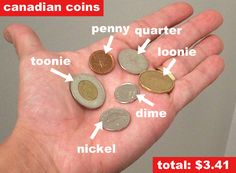 Canadian coins.