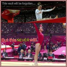 We are so proud of Mckayla Keep your chin up and remember you won a Olympic silver medal!