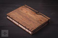 wooden photo album wedding album wedding gift by WOODBEEShop