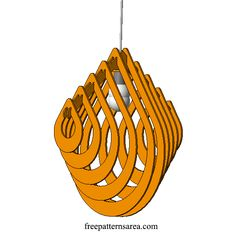 Rain Drop Chandelier Light Free Dxf File for Laser Cutting Free CAD chandelier drawing files for 3D chandelier in laser cutting machine. The chandelier is the most important decorative elements of your home. They often stand alone on your ceiling, undertaking the ceiling decoration of your room. We are aware of the importance of the decoration
