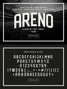 Areno Free Vintage Font