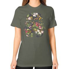Tropical Stormtrooper Unisex T-Shirt (on woman)