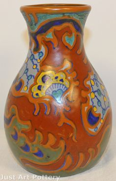 Gouda Pottery Plata Vase from Just Art Pottery