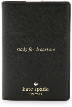 Kate Spade New York Passport Holder - travel - adventurer - see the world - international travel - sponsored