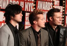 Green Day - 2009 MTV Video Music Awards at Radio City Music Hall on September 13, 2009 in New York City.