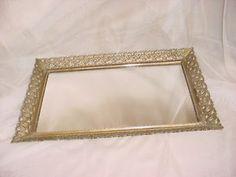 regency vanity tray~