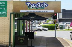 Every table at Everton Park's Toasted Cafe has its very own toaster, where customers have the option of toasting their own bread Coffee Meeting, Brisbane Australia, Great Coffee, Everton, Toaster, Places To Eat, Park, Drinks, Shop