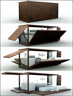 Container to living space