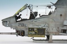 AH-1W Super Cobra 1/35 Scale Model