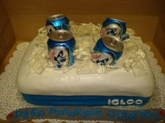 perfect cake for the beer olympics