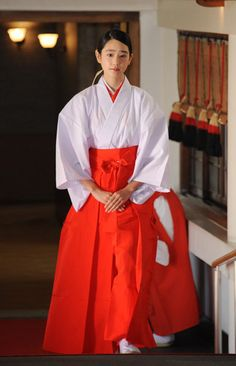 日枝神社(東京都千代田区)の広報大使に任命された女優の高橋ひかるさん。高橋さんは2014年の「全日本国民的美少女コンテスト」でグランプリを受賞した